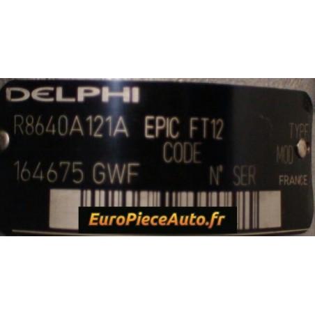 Reparation pompe injection EPIC Delphi 8640A121A