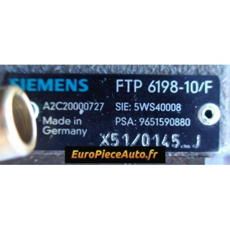 Pompe injection CR Siemens 5WS40008Z Echange Standard